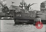 Image of Wrecked ships Pearl Harbor Hawaii USA, 1942, second 61 stock footage video 65675033415