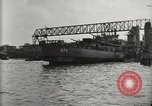 Image of Wrecked ships Pearl Harbor Hawaii USA, 1942, second 62 stock footage video 65675033415