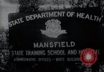 Image of Mentally disabled children Mansfield Connecticut USA, 1969, second 1 stock footage video 65675033420
