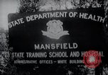 Image of Mentally disabled children Mansfield Connecticut USA, 1969, second 2 stock footage video 65675033420