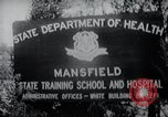 Image of Mentally disabled children Mansfield Connecticut USA, 1969, second 5 stock footage video 65675033420