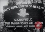 Image of Mentally disabled children Mansfield Connecticut USA, 1969, second 7 stock footage video 65675033420