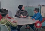 Image of Concept development in mentally disabled Kansas United States USA, 1975, second 52 stock footage video 65675033440