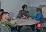 Image of Concept development in mentally disabled Kansas United States USA, 1975, second 57 stock footage video 65675033440