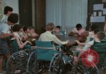 Image of Research programs for mentally disabled Kansas United States USA, 1975, second 28 stock footage video 65675033442