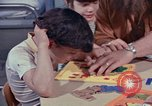 Image of modifying behavior of mentally disabled Kansas United States USA, 1975, second 41 stock footage video 65675033443