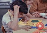 Image of modifying behavior of mentally disabled Kansas United States USA, 1975, second 44 stock footage video 65675033443
