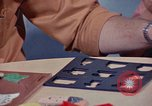Image of modifying behavior of mentally disabled Kansas United States USA, 1975, second 55 stock footage video 65675033443