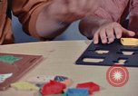 Image of modifying behavior of mentally disabled Kansas United States USA, 1975, second 60 stock footage video 65675033443