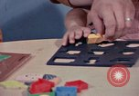 Image of modifying behavior of mentally disabled Kansas United States USA, 1975, second 61 stock footage video 65675033443