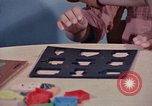 Image of modifying behavior of mentally disabled Kansas United States USA, 1975, second 62 stock footage video 65675033443