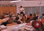 Image of 1970s elementary school children Los Angeles California USA, 1971, second 27 stock footage video 65675033448
