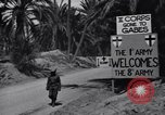 Image of US soldier Tunisia North Africa, 1943, second 4 stock footage video 65675033487