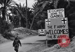 Image of US soldier Tunisia North Africa, 1943, second 26 stock footage video 65675033487