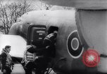 Image of British Avro Manchester bombers strike Axis held targets in occupied France Europe, 1943, second 14 stock footage video 65675033504
