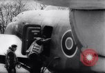 Image of British Avro Manchester bombers strike Axis held targets in occupied France Europe, 1943, second 15 stock footage video 65675033504