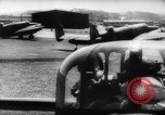 Image of British Avro Manchester bombers strike Axis held targets in occupied France Europe, 1943, second 18 stock footage video 65675033504