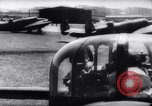 Image of British Avro Manchester bombers strike Axis held targets in occupied France Europe, 1943, second 19 stock footage video 65675033504