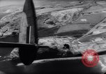 Image of British Avro Manchester bombers strike Axis held targets in occupied France Europe, 1943, second 27 stock footage video 65675033504
