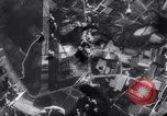 Image of British Avro Manchester bombers strike Axis held targets in occupied France Europe, 1943, second 57 stock footage video 65675033504