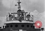 Image of Allied Invasion convoy heading toward North Africa Atlantic Ocean, 1942, second 1 stock footage video 65675033506