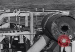 Image of Allied Invasion convoy heading toward North Africa Atlantic Ocean, 1942, second 43 stock footage video 65675033506