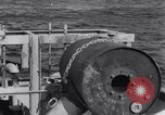 Image of Allied Invasion convoy heading toward North Africa Atlantic Ocean, 1942, second 44 stock footage video 65675033506