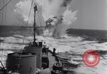 Image of Allied Invasion convoy heading toward North Africa Atlantic Ocean, 1942, second 57 stock footage video 65675033506