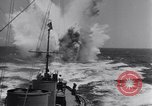 Image of Allied Invasion convoy heading toward North Africa Atlantic Ocean, 1942, second 58 stock footage video 65675033506