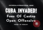 Image of Bay of Pigs Cuba Invasion Cuba, 1961, second 2 stock footage video 65675033521