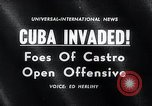 Image of Bay of Pigs Cuba Invasion Cuba, 1961, second 3 stock footage video 65675033521