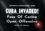 Image of Bay of Pigs Cuba Invasion Cuba, 1961, second 4 stock footage video 65675033521