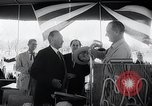 Image of West German Chancellor Konrad Adenauer Stonewall Texas USA, 1964, second 22 stock footage video 65675033524