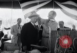 Image of West German Chancellor Konrad Adenauer Stonewall Texas USA, 1964, second 24 stock footage video 65675033524