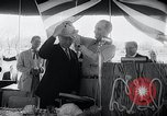 Image of West German Chancellor Konrad Adenauer Stonewall Texas USA, 1964, second 25 stock footage video 65675033524