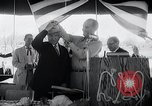 Image of West German Chancellor Konrad Adenauer Stonewall Texas USA, 1964, second 26 stock footage video 65675033524