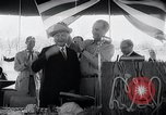 Image of West German Chancellor Konrad Adenauer Stonewall Texas USA, 1964, second 27 stock footage video 65675033524