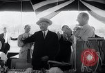 Image of West German Chancellor Konrad Adenauer Stonewall Texas USA, 1964, second 29 stock footage video 65675033524