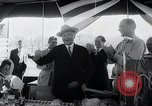 Image of West German Chancellor Konrad Adenauer Stonewall Texas USA, 1964, second 30 stock footage video 65675033524