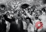 Image of West German Chancellor Konrad Adenauer Stonewall Texas USA, 1964, second 35 stock footage video 65675033524