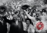 Image of West German Chancellor Konrad Adenauer Stonewall Texas USA, 1964, second 36 stock footage video 65675033524