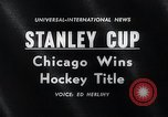 Image of Stanley Cup Detroit Michigan Olympia stadium USA, 1961, second 4 stock footage video 65675033525