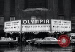 Image of Stanley Cup Detroit Michigan Olympia stadium USA, 1961, second 6 stock footage video 65675033525