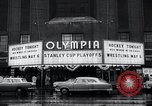 Image of Stanley Cup Detroit Michigan Olympia stadium USA, 1961, second 7 stock footage video 65675033525