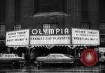 Image of Stanley Cup Detroit Michigan Olympia stadium USA, 1961, second 8 stock footage video 65675033525