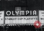 Image of Stanley Cup Detroit Michigan Olympia stadium USA, 1961, second 9 stock footage video 65675033525