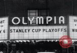 Image of Stanley Cup Detroit Michigan Olympia stadium USA, 1961, second 10 stock footage video 65675033525