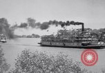 Image of Port of Stockton steamboat  Sacramento California USA, 1938, second 14 stock footage video 65675034097
