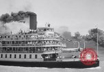 Image of Port of Stockton steamboat  Sacramento California USA, 1938, second 16 stock footage video 65675034097