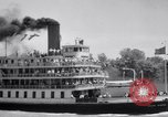 Image of Port of Stockton steamboat  Sacramento California USA, 1938, second 17 stock footage video 65675034097